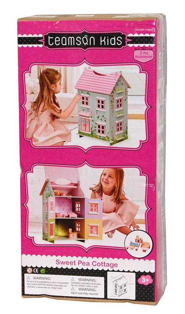 teamson kids sweet pea cottage